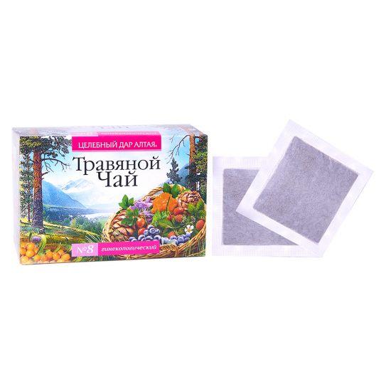 Травяной чай Сбор № 8 «Гинекологический»
