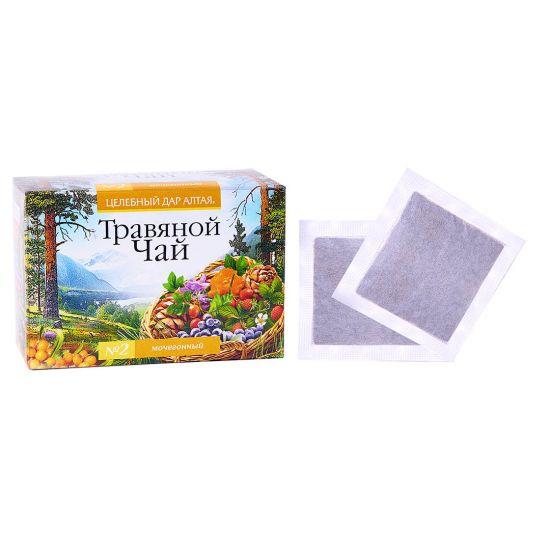 Травяной чай Сбор № 2 «Мочегонный»