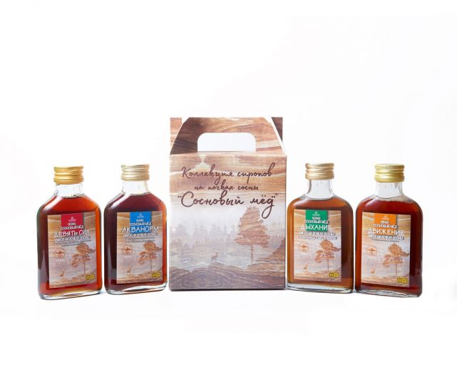 Набор сиропов «Сосновый мёд»