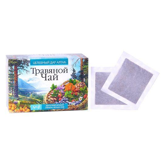 Травяной чай Сбор № 4 «Регулирующий обмен веществ»